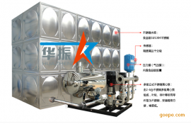 智能型箱式无负压给水设备原理介绍