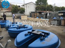 QFB河道漂浮式浮筒增氧曝气机选型报价