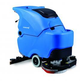 容恩全自动洗地机R70BT电瓶手推式洗地吸干机