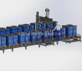 吨桶灌装机 200Lx4桶 吨桶自动灌装生产线