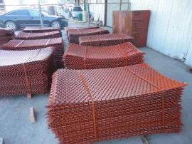 建筑钢笆片供货商――双包边、喷漆脚手架钢笆片按吨报价
