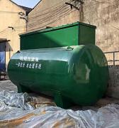 垃圾压缩站压滤液废水处理设备地埋式圆罐型设备出水COD小于50mg/