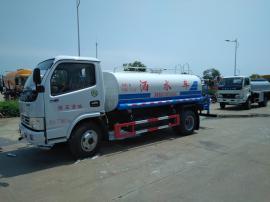 国五东风福瑞卡5吨洒水车SCS5072GPSEQ型绿化喷洒车