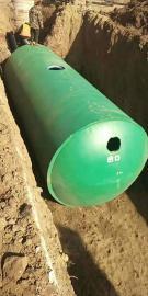 整体式商砼水泥钢筋化粪池12-100立方化粪池