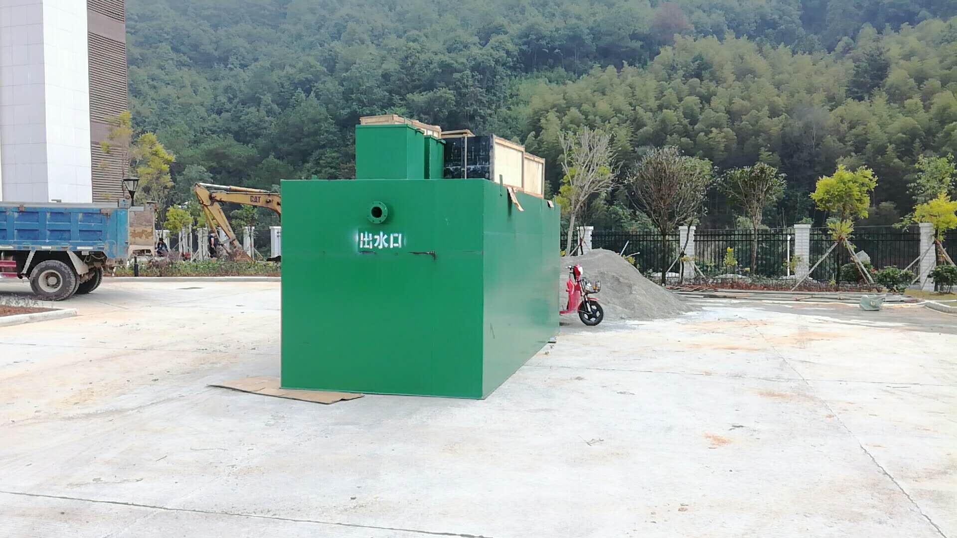 20张-100张床位医院污水处理设备工艺流程
