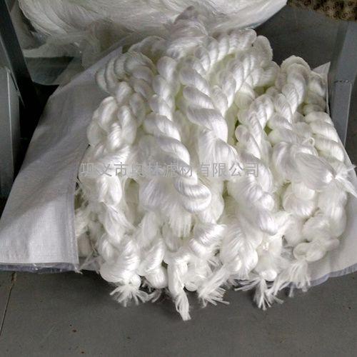 白色涤纶纤维束滤料