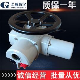 蝶阀电动执行器球阀闸阀多回转电动执行器DZW多回转电动执行器