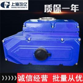dn100对夹蝶阀配套防爆型型电动执行器,精小型防爆型电动执行器