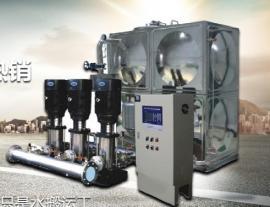 箱式无负压管网增压稳流给水设备