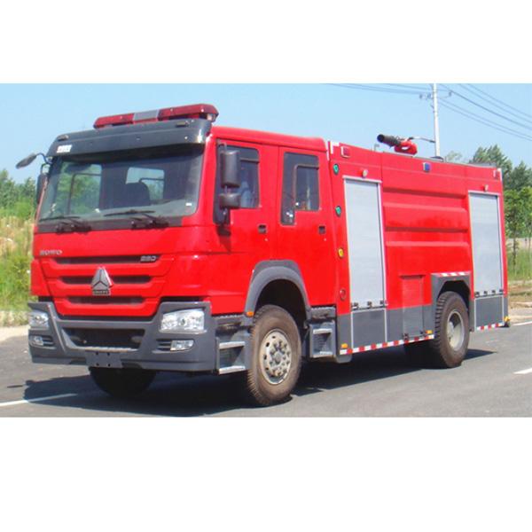 重汽8立方泡沫消防车