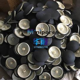 215mm微孔膜片曝气器 污水处理曝气头曝气盘爆气增氧机配马鞍座