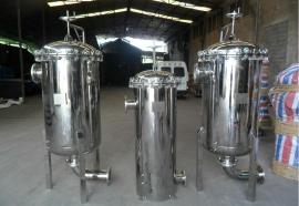 50吨60吨70吨80吨100吨大流量法兰式袋式过滤器工厂不锈钢材质