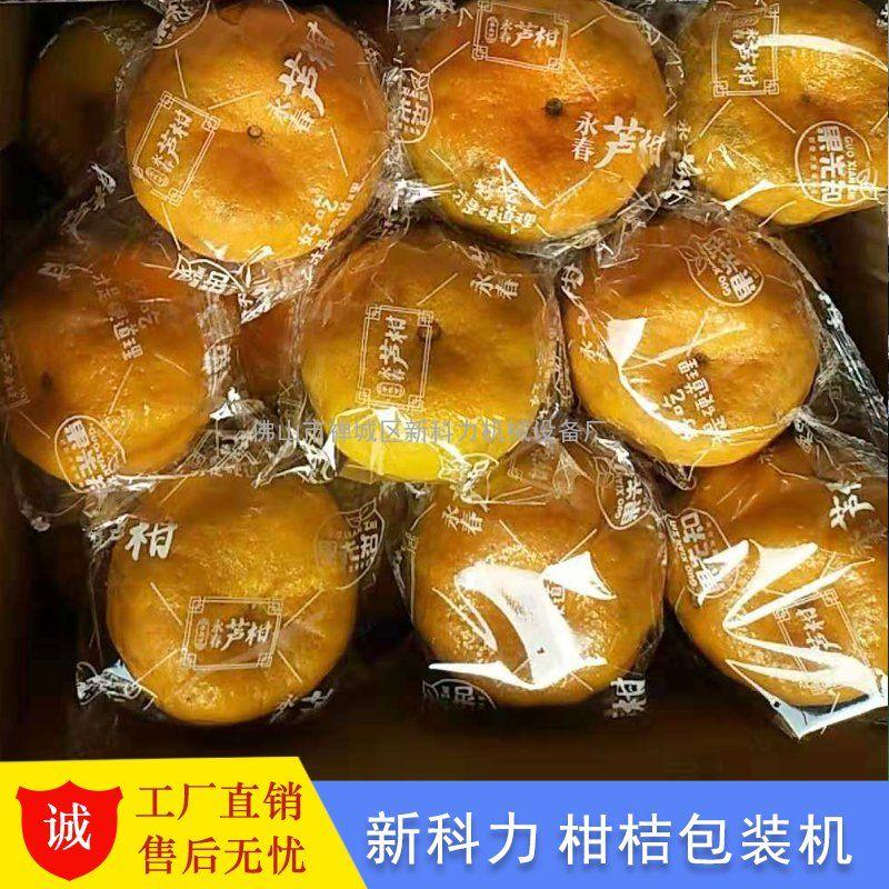 茂谷柑包装机 武鸣茂谷茜沃柑自动包装机 精品水果包装机
