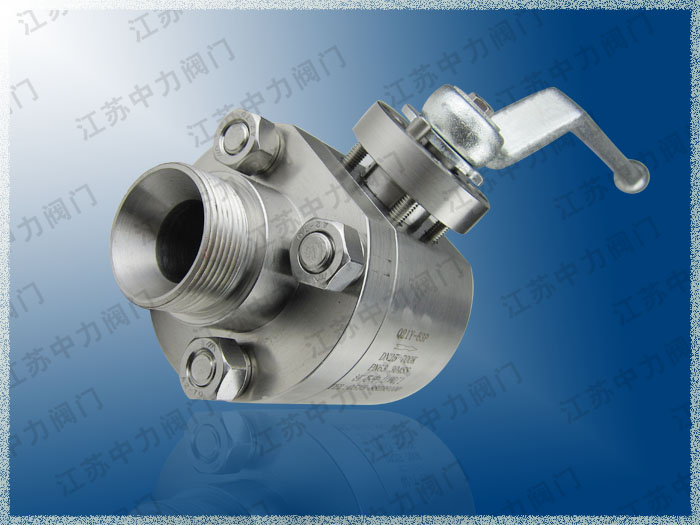 Q61Y-320P不锈钢高压球阀