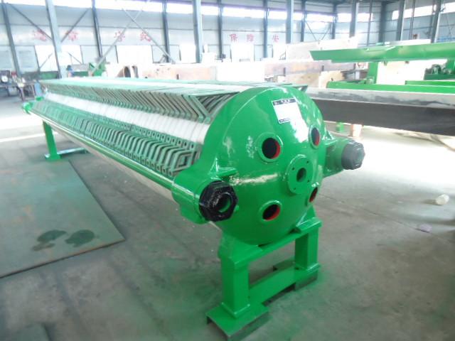 高强度抗压机械压滤机,操作简单平稳,明华压滤机