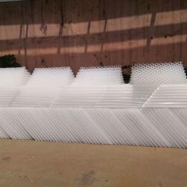斜管填料,玻璃钢斜管,PVC斜管填料,沉淀池斜板