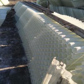 斜管填料,玻璃钢斜管填料,沉淀池六角斜管填料