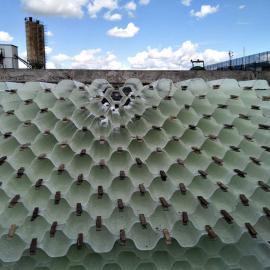 玻璃钢酸雾净化塔,废气净化塔,玻璃钢斜管填料