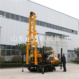 直供XYD-200履带地质勘探钻机 200米水井钻机 地质勘探岩心钻机