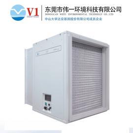 科技馆中央空调管道式电子式空气净化装置好不好用