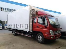 程力蓝牌鸡苗运输车 4.2米畜禽车