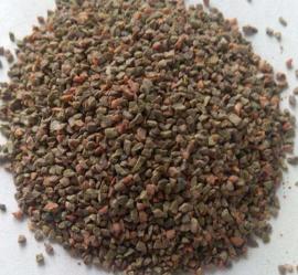各种水处理滤池用石榴石滤料 新型耐磨高效石榴石颗粒