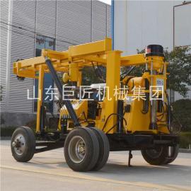 XYX-3行走式液压水井钻机大型拖车式钻机