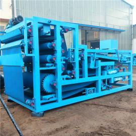 小型造纸污泥处理设备 不锈钢防腐污泥带式压滤机