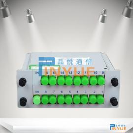 1分16插片式光分路器作用