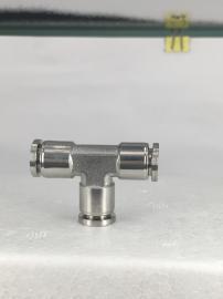 气动不锈钢快插三通接头NUMAX气动T型接管φ6