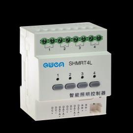 渠恩SHMRT8L AC220V酒店智能照明控制模块8路液晶控制面板