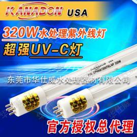 KANADON污水废水处理紫外线320W紫外线杀菌灯GPHHA1554T6L/4P