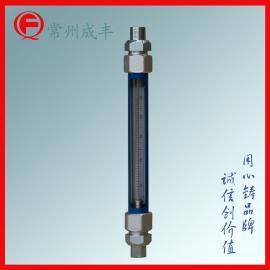 玻璃管转子流量计 碳钢外壳 管螺纹接头 气体玻璃管浮子流量计