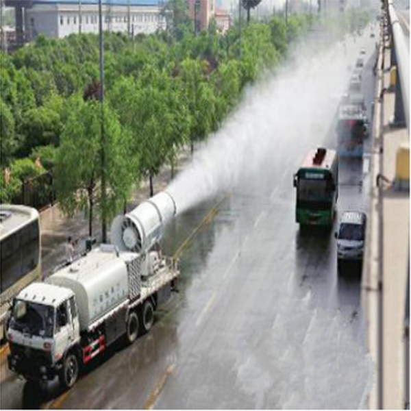 发电厂降粉尘污染车-10吨多功能抑尘车