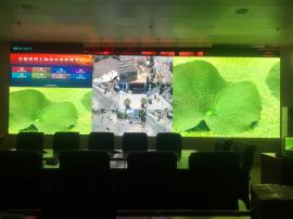 公司��字��S���h室LED高清�@示屏,P1.8全彩�子屏�r�X
