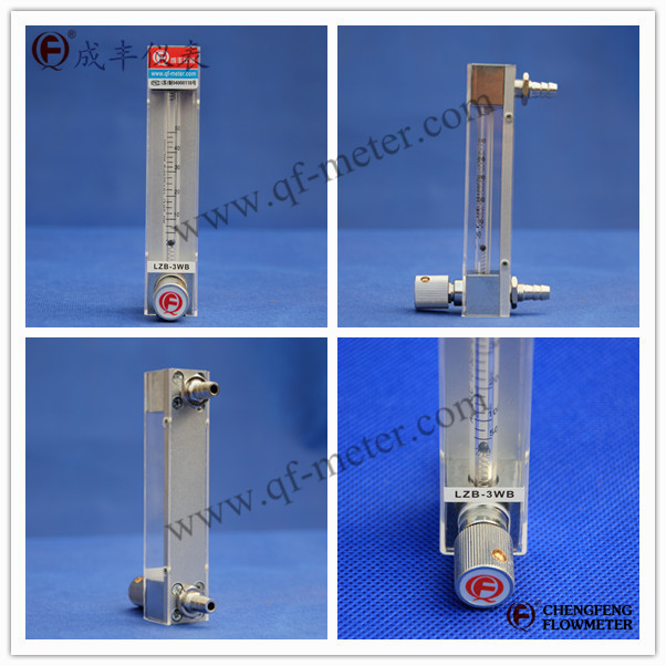 微小流量玻璃转子流量计LZB-2WB,LZB-3WB,LZB-4WB,LZB-6WB