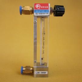 玻璃转子流量计微小流量测量 过程流量计品牌成丰仪表宝塔接头