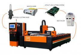 紫铜黄铜板铝板碳钢板铁板镀锌板专用激光切割机