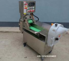 大型食堂多功能切菜机不锈钢果蔬切片机可现场试机