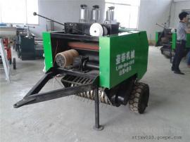 麦秸捡拾打捆一体机型号 拖拉机牵引秸秆打捆机圣泰制造