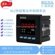 数显频率表 RX194F-3K1仁贤电压频率表 交流工频表