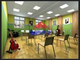 学校演播室音乐教室声学设计装修方案