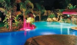 滨特尔PENTAIR星级酒店庄园会所高档泳池水疗水景水下LED灯
