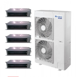 格力家用中央空调GMV系列大6匹一拖五家庭风管机GMV-H140WL/A