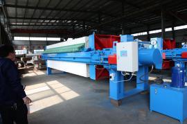 程控自动拉板压滤机,适用于各种悬浮液的固液分离行业