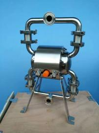 QBW3系列卫生级气动隔膜泵 不锈钢隔膜泵 食品饮料酒类输送泵