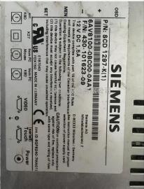 二手西门子工控机触摸屏6AV8100-0BC00-0AA1按键膜,可维修测试