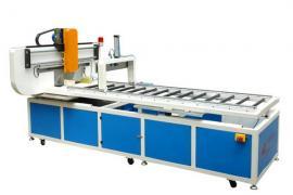 提供玻璃钢制品生产线全自动在线切割机生产