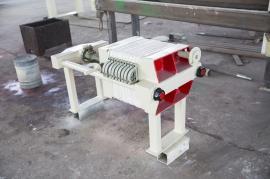千斤顶小型压滤机,厢式压滤机,固液分离质保1年