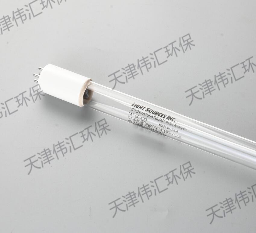 美国LIGHT SOURCES明渠式紫外杀菌灯GPHHA1554T6L/4P 150W